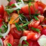 receta ensalada de tomate