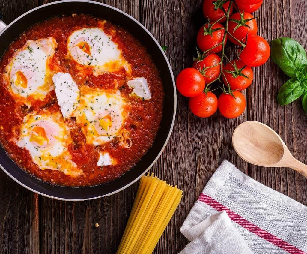 Huevos rancheros por Pixabay