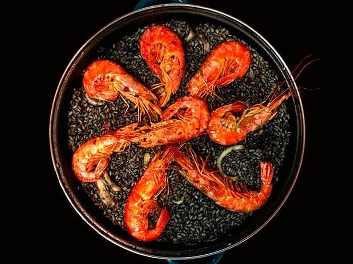 receta arroz negro