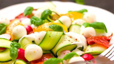Recetas de vegetales bajas en calorias