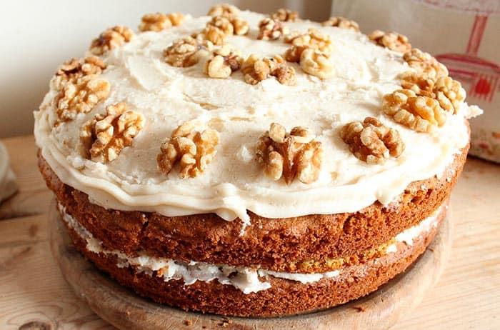 Pastel de zanahoria f cil y r pido comedera com for Como decorar una torta facil y rapido