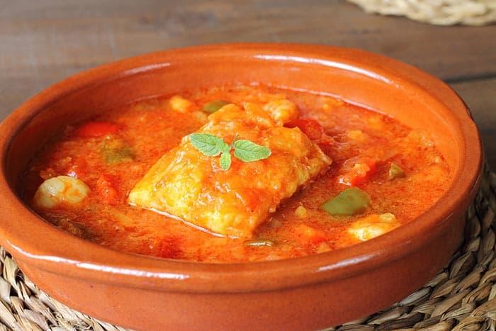 receta bacalao con tomate