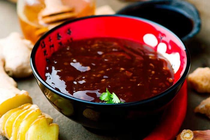salsa teriyaki casera