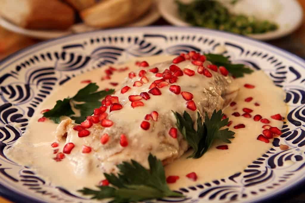 receta de chiles en nogada mexicanos