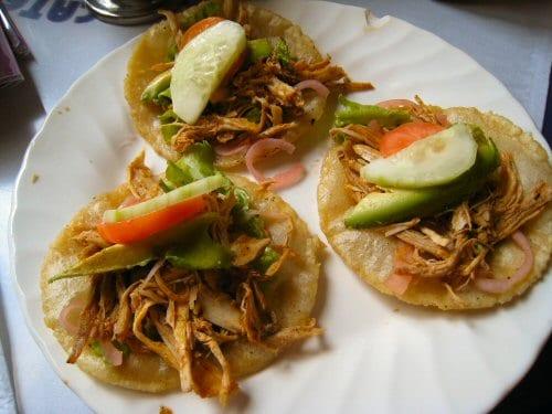 receta de salbutes de yucatan