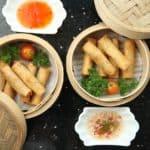 rollitos de primavera chinos