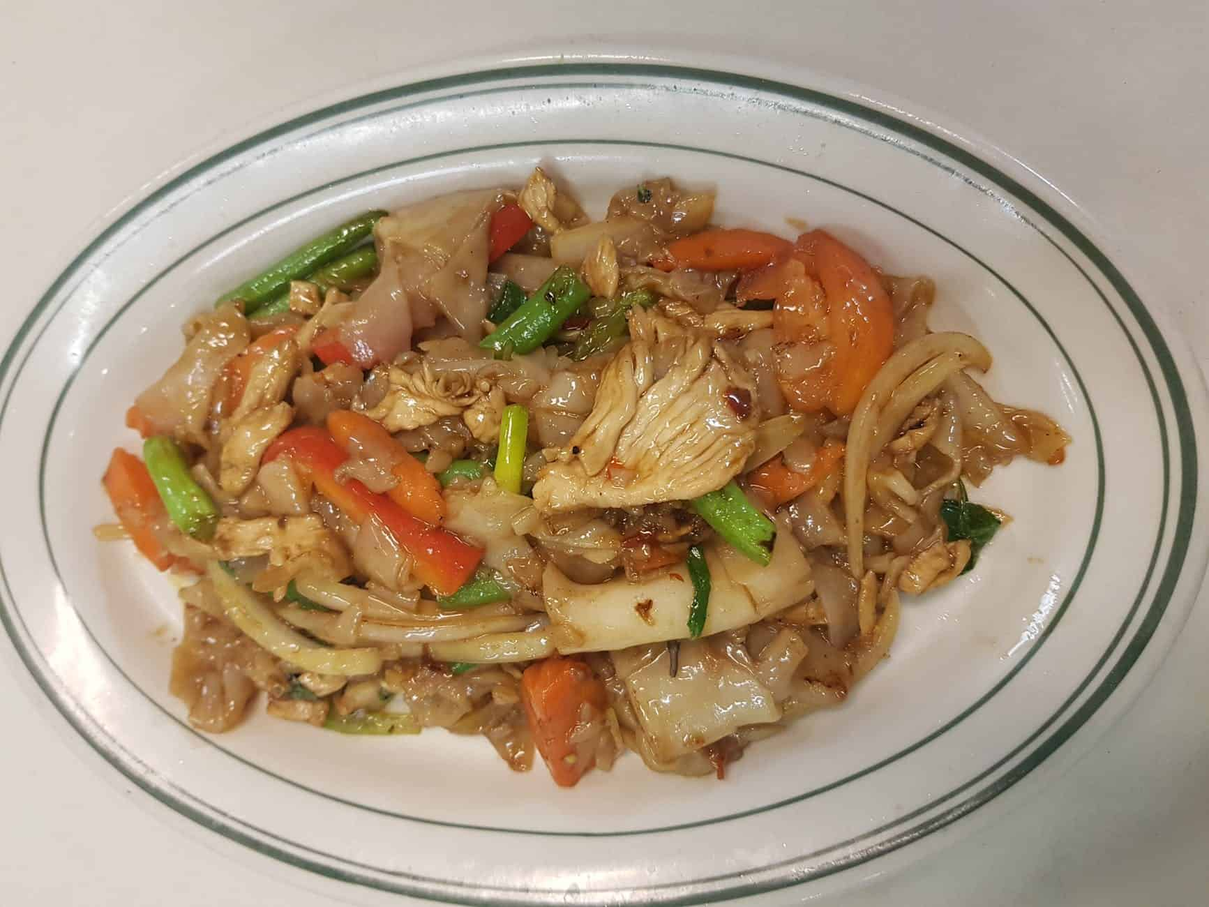 plato de chop suey casero