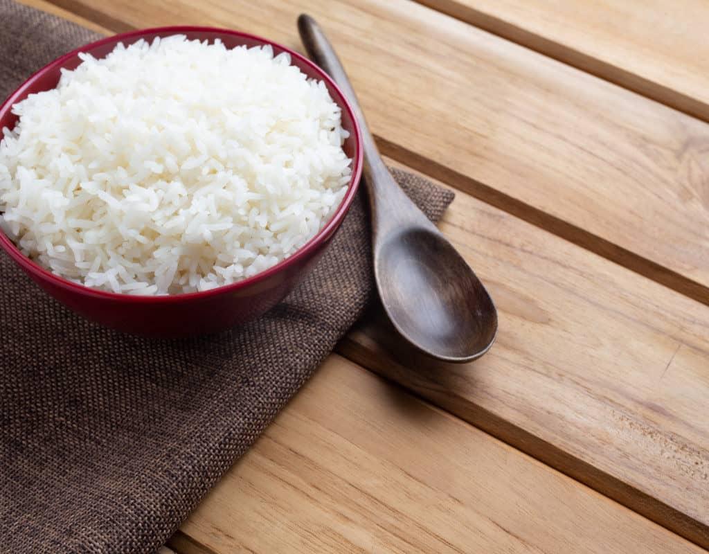 arroz basmati listo