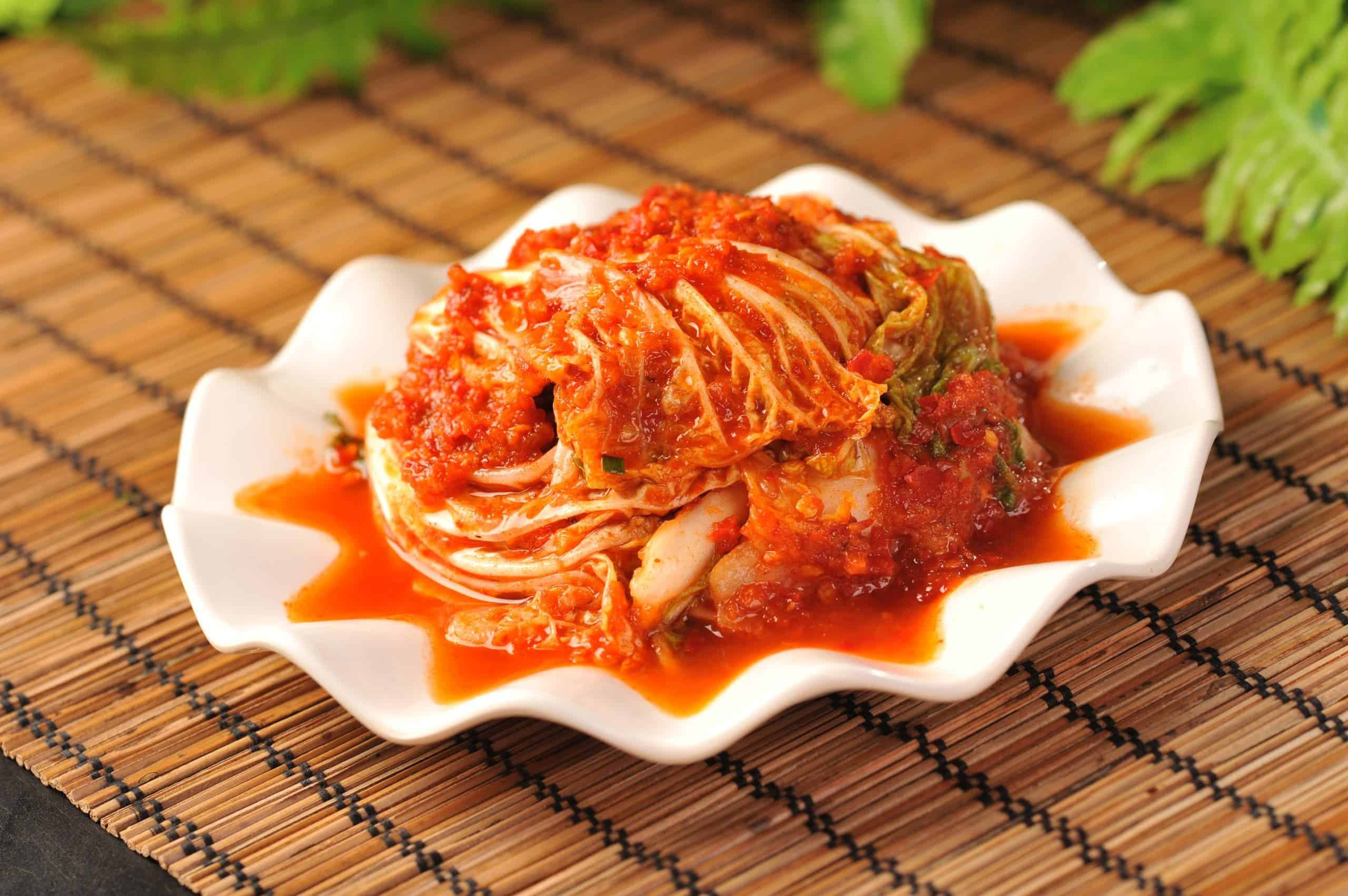 kimchi tradicional de corea