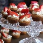 Cupcakes de fresa caseros