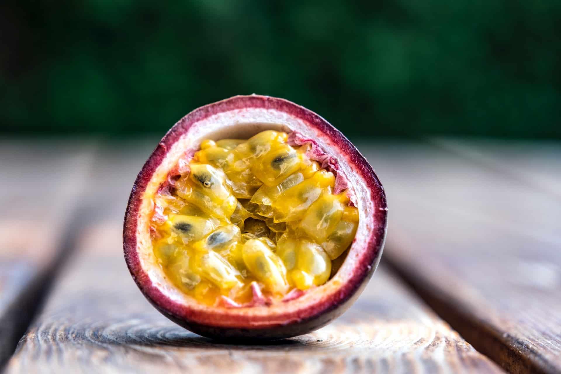 Frutas exóticas maracuya
