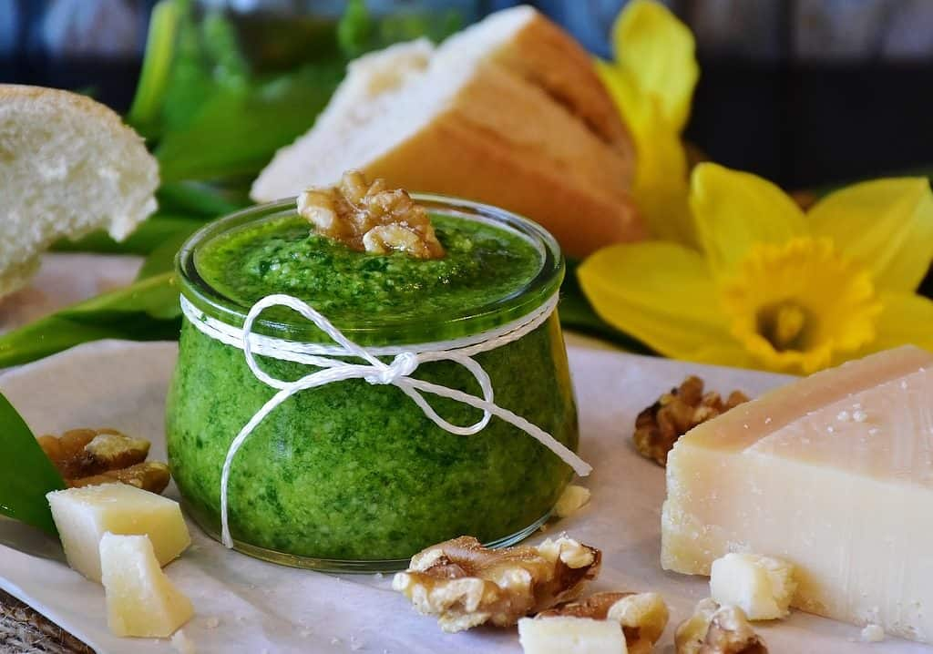 Pesto por Pixabay