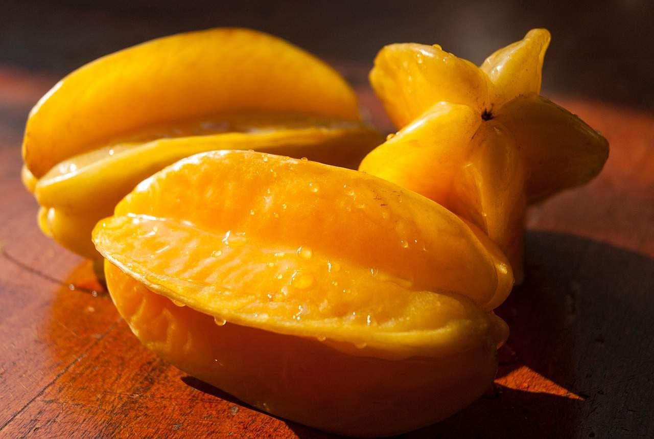 frutas exóticas carambola