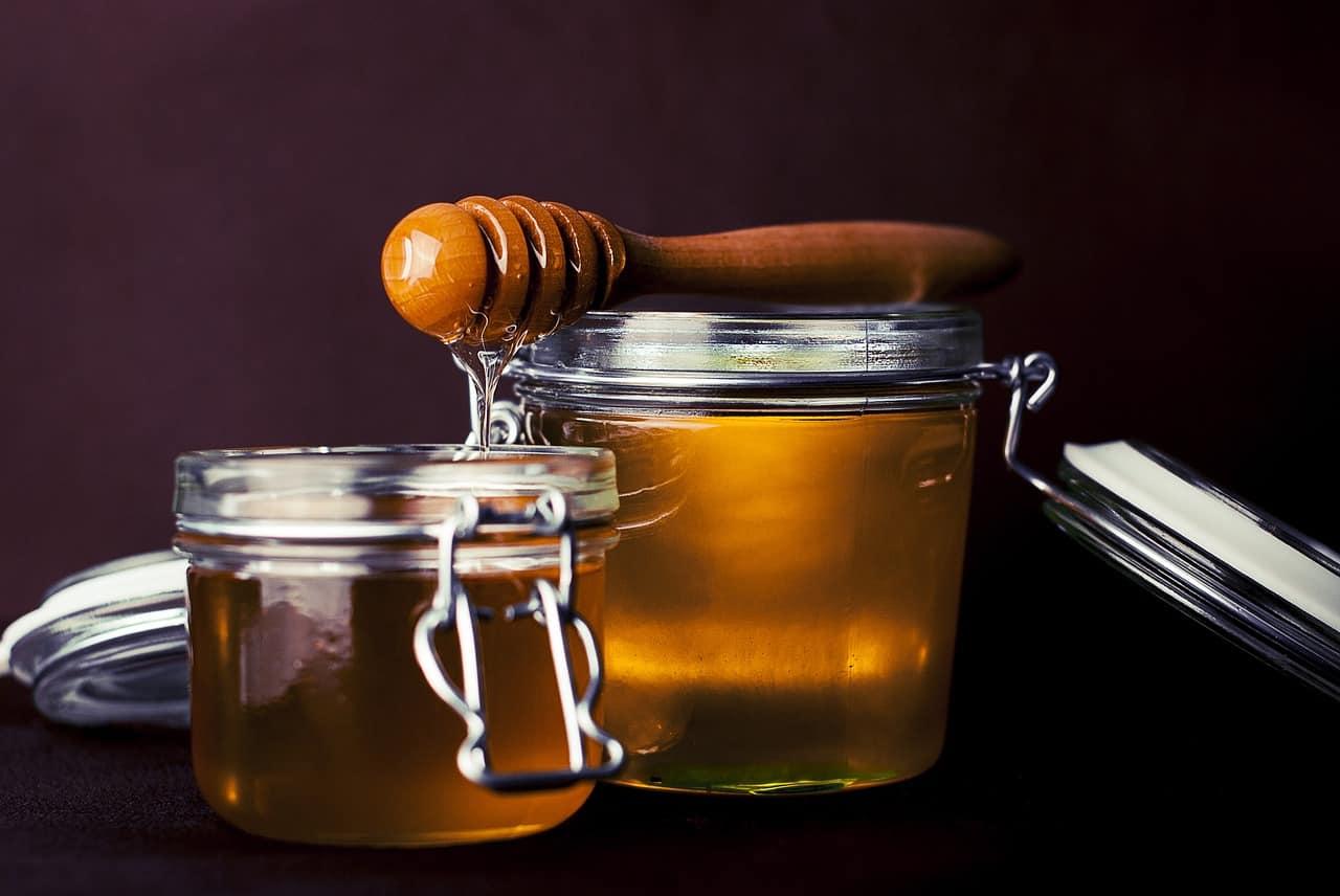 Miel por Pixabay
