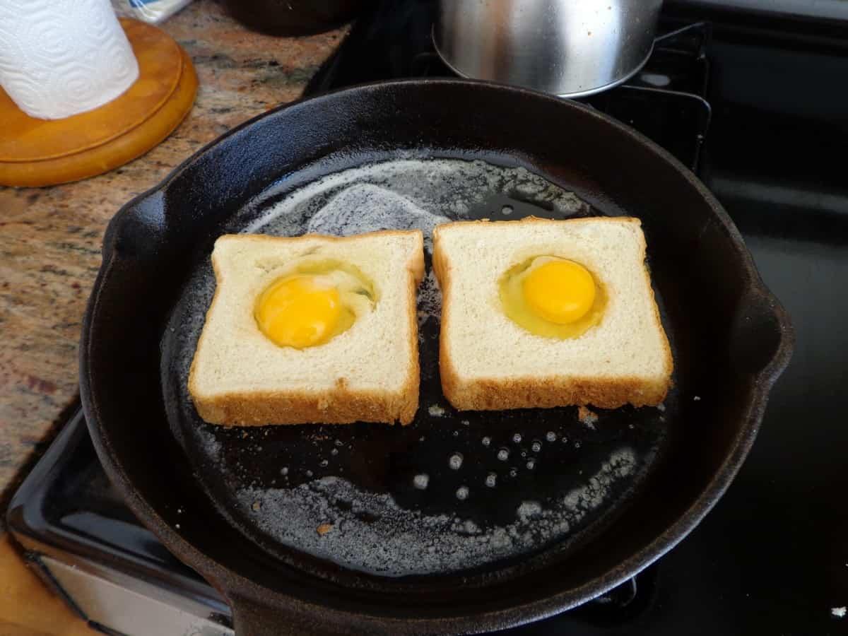 Tostadas de huevo