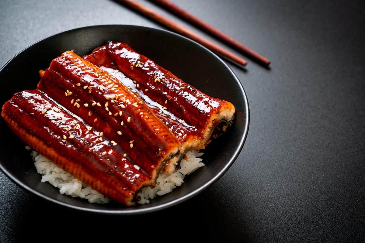 salsa de anguila unagi