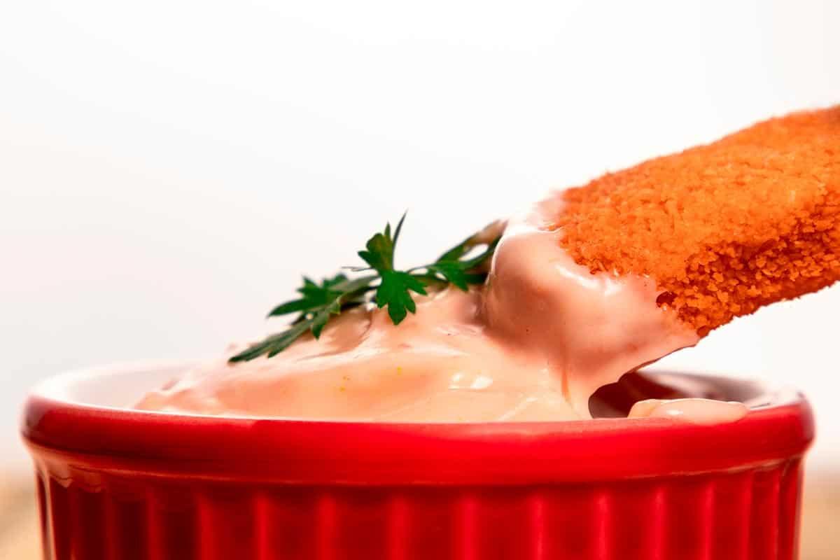 salsa coctel rosa casera